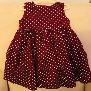 *3 for $15* holiday toddler dress